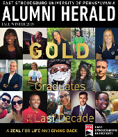 2019 Fall Winter Alumni Herald Cover