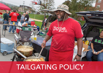 Homecoming 2019 Tailgating Policy