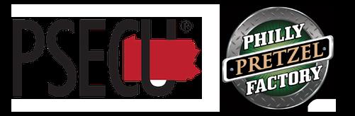 PSECU and Philly Pretzel Factory Logos