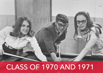 Class of 1970 and 1971