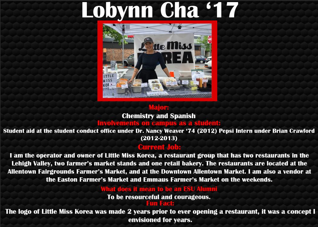 Lobynn Cha '17