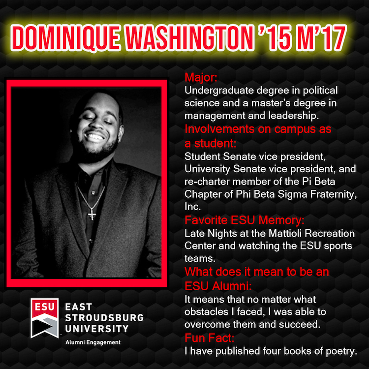 Dominique Washington '15M '17