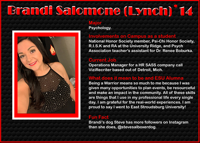 Brandi Salomone Lynch '14