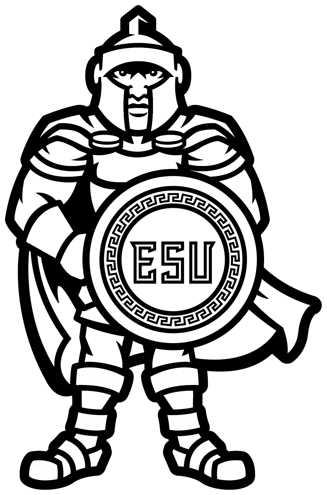 ESU Alumni Coloring Page (Cover)