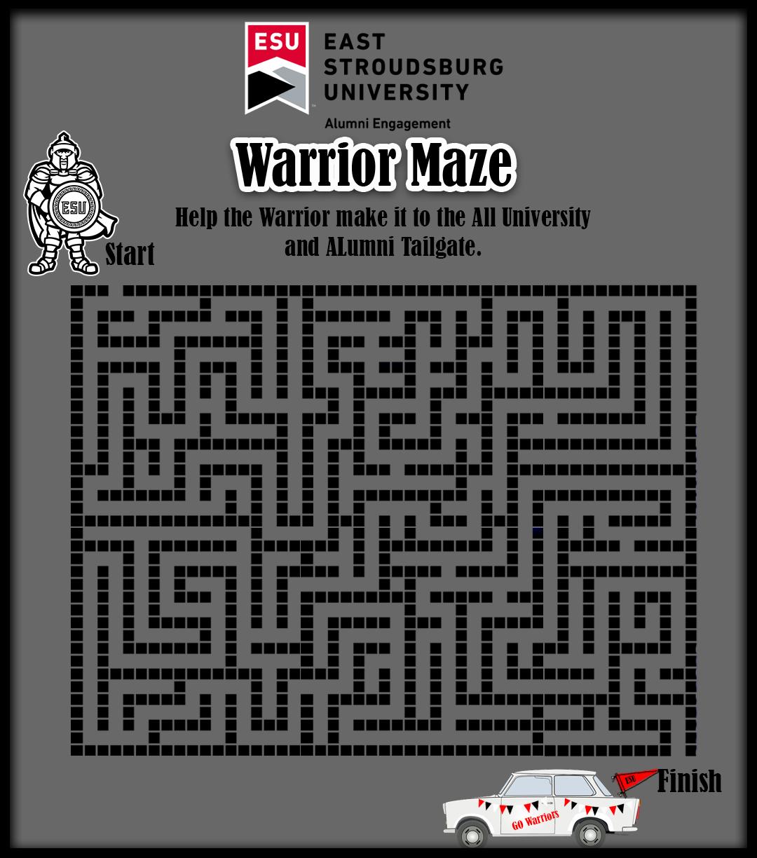 Warrior Maze 2
