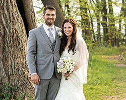 KATIE CARTLIDGE HEATH '09 AND BRIAN HEATH '10 GO FROM FAST FRIENDSHIP TO ROMANTIC RELATIONSHI