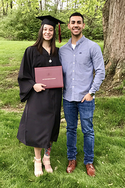 CHRISTINA DEPALMA '17 M'19 AND ABEL GUERRERO '17 MEANT TO LAST
