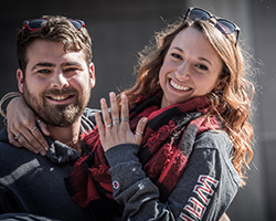 ESU HOLDS SPECIAL PLACES IN THE HEARTS OF ASHLEY TUCKER DILLON '15 AND TYLER DILLON '15
