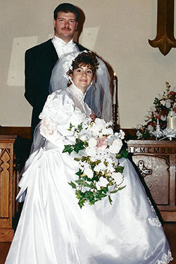 IT'S ESU FOREVER FOR SCOTT DESTEFON '93 AND JOANNE CLAYTON DESTEFON '92