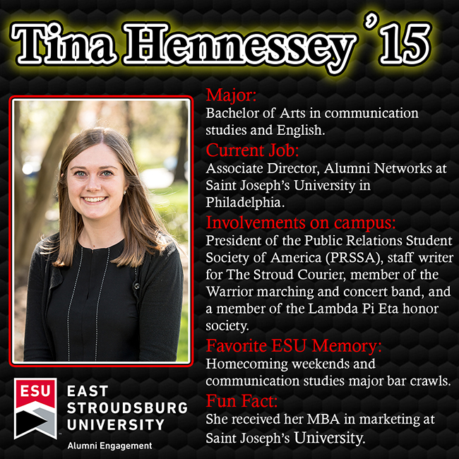GOLD Tina Hennessey '15