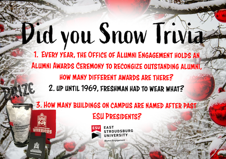 Did you Snow Trivia?